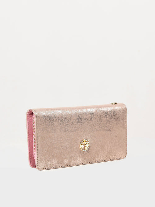 Shimmery Textured Wallet