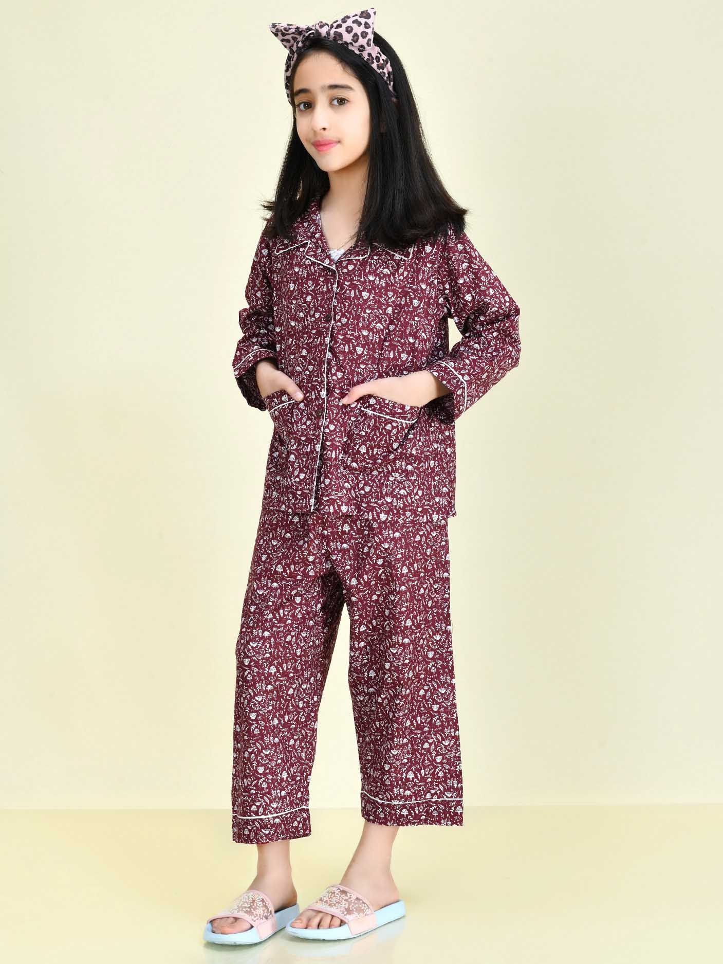 Printed Sleep Suit