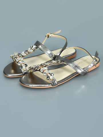 Rhinestone Bedazzled Sandals