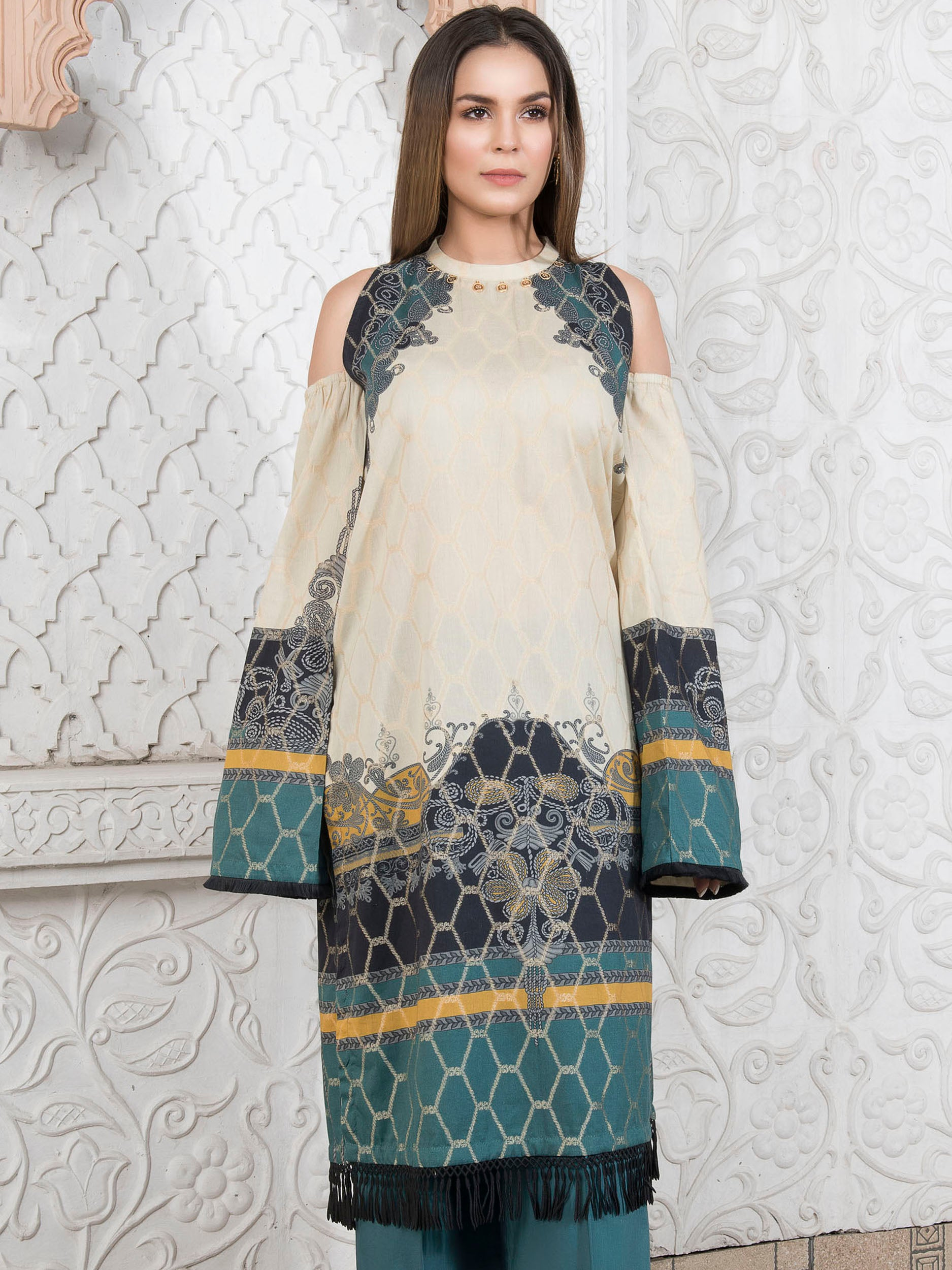 Limelight Online Embroidered Lawn Shirt P2274-SLL-SND
