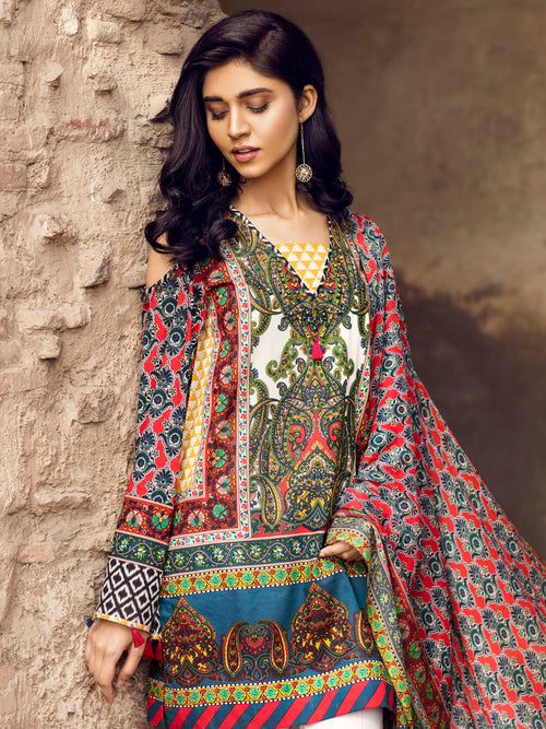 Kashmiri Folk Love (2 piece suit)
