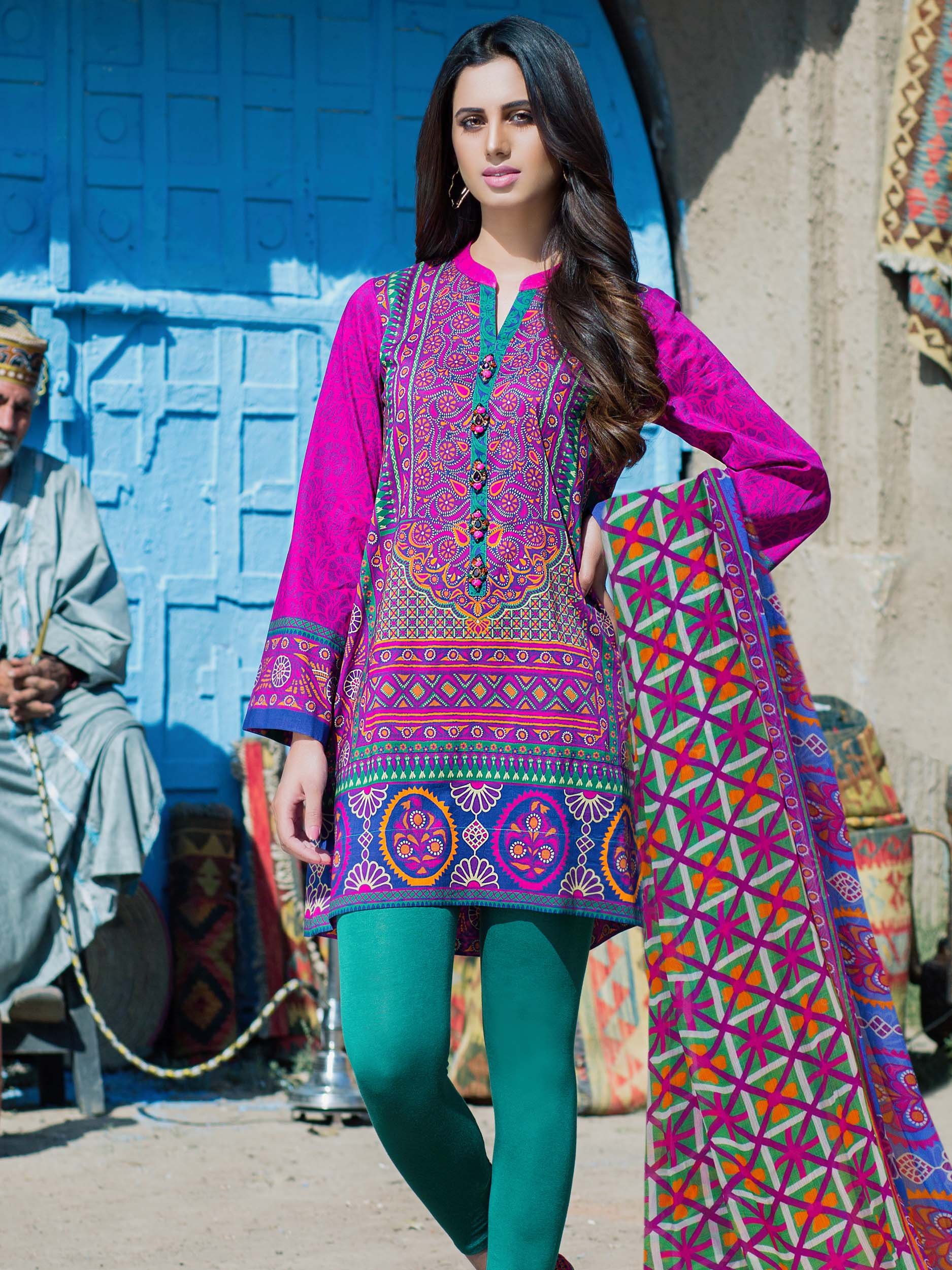 Kalam Kari (2 piece suit)