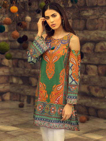 Oriental Bloom (2 Piece Suit)