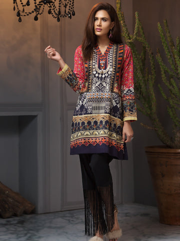 Tapestry Decor Shirt (Winter Cotton)