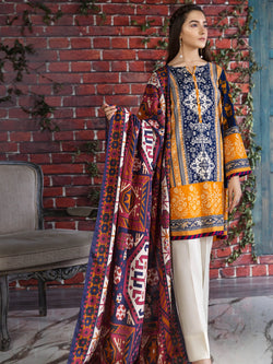 Tribal Tales Suit (Khaddar)