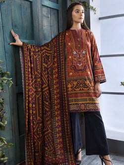 Oriental Gold Suit (Winter Cotton)