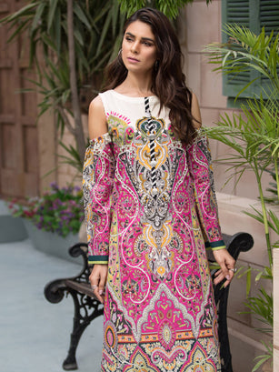 Lawn eid collection 2019