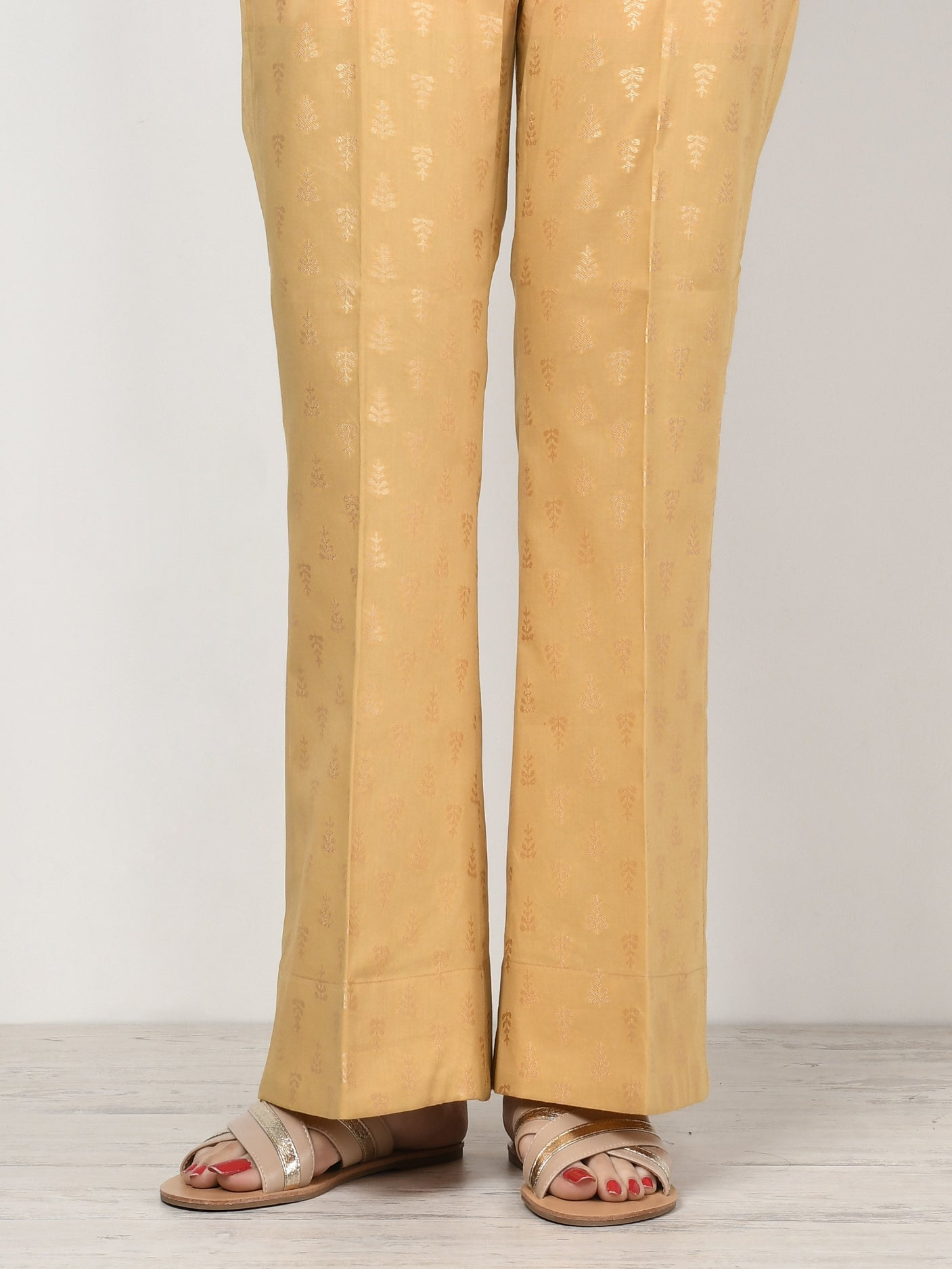 Limelight Online Unstitched Jacquard Trouser - Off White U0781-LSF-OWH
