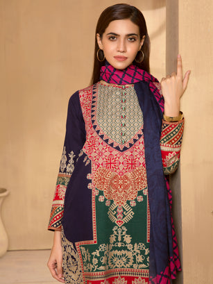 3-Pc Khaddar Suit