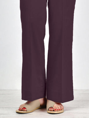 Unstitched Winter Trouser - Purple