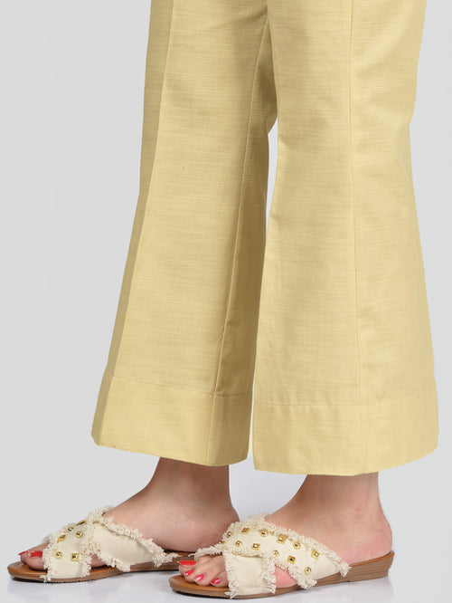 Unstitched Khaddar Trouser - Dark Beige
