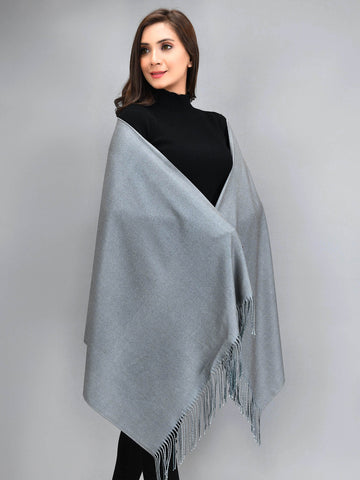 Two Toned Shawl - Green