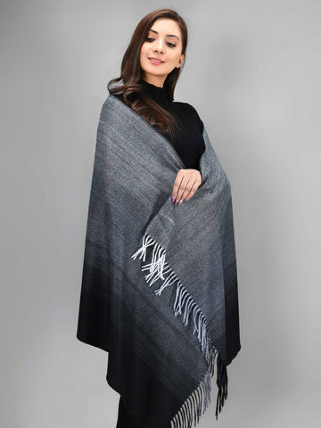 Shaded Shawl - Black