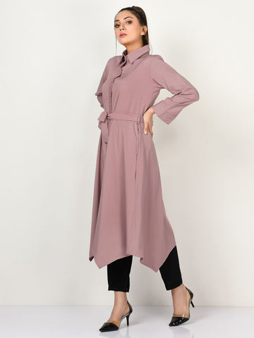 Buttoned Grip Dress