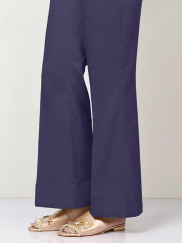 Unstitched Winter Cotton Trouser - Dark Blue