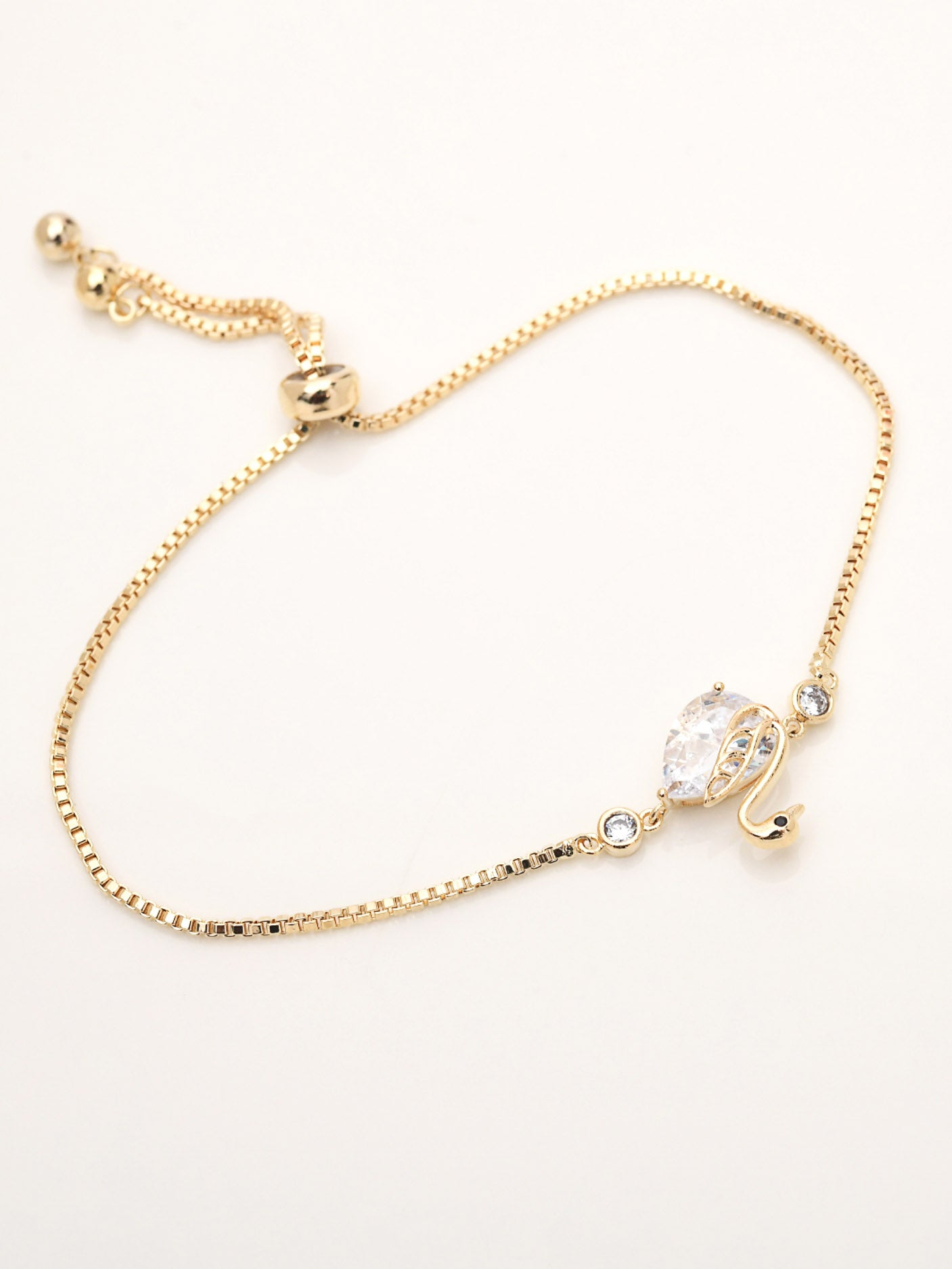Diamante Drop Bracelet