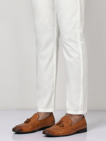 Straight Trouser - Off White