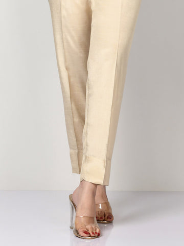 Raw Silk Trousers