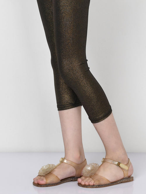 Shimmer Tights - Copper