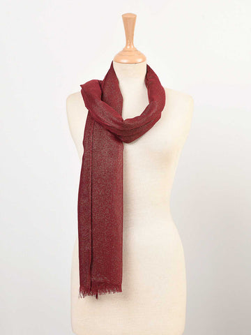 Shimmer Lined Scarf