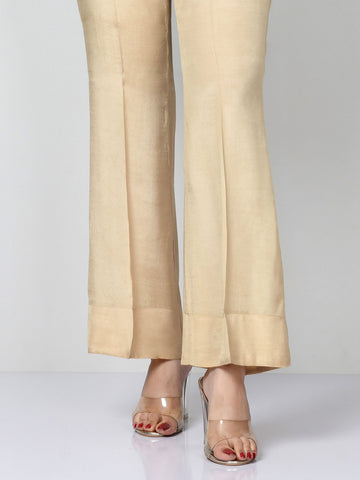 Raw Silk Pants
