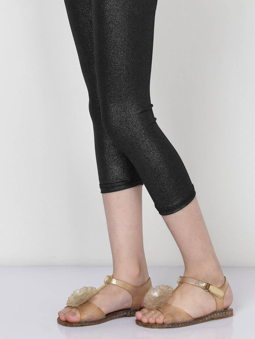 Shimmer Tights - Black