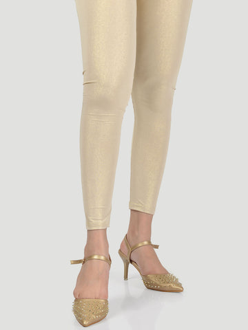 Shimmer Tights - Yellow Gold
