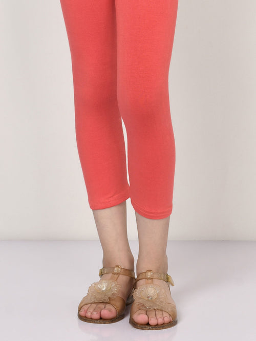 Basic Tights - Dark Peach