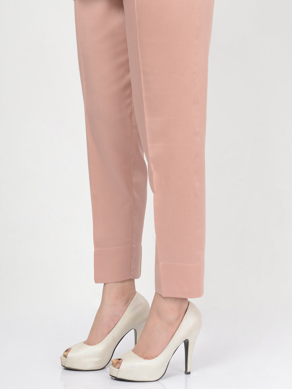 Straight Trouser-Tea Pink