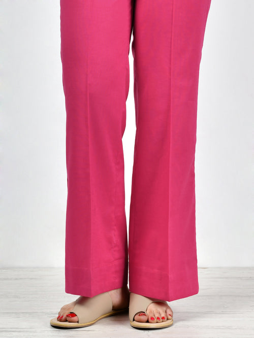 Bootcut Pants-Light Pink