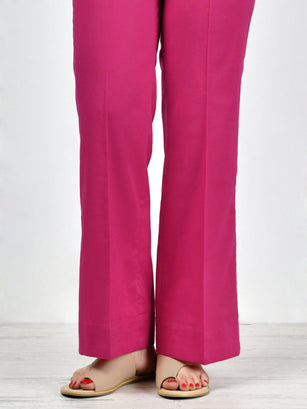 Unstitched Cambric Trouser - S. Pink