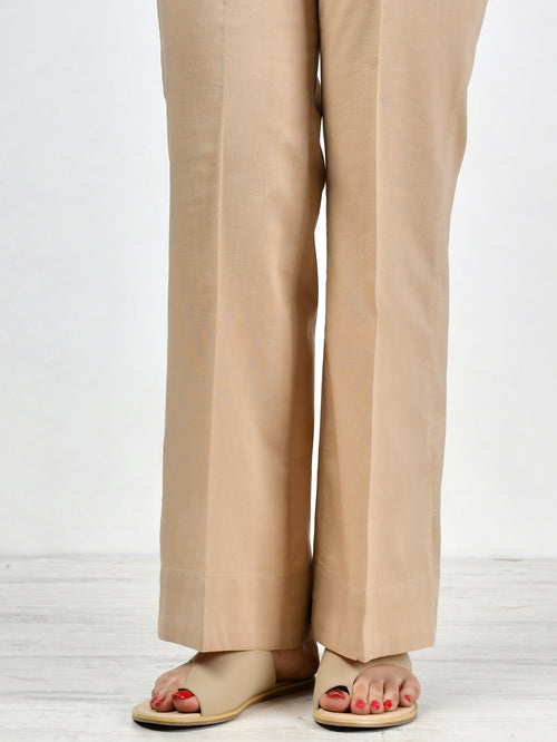 Bootcut Pants-Dark Khaki