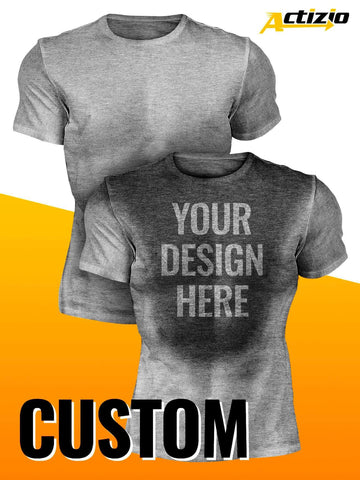 Custom Men's Sweat Activated Shirt - DESIGN YOUR OWN!