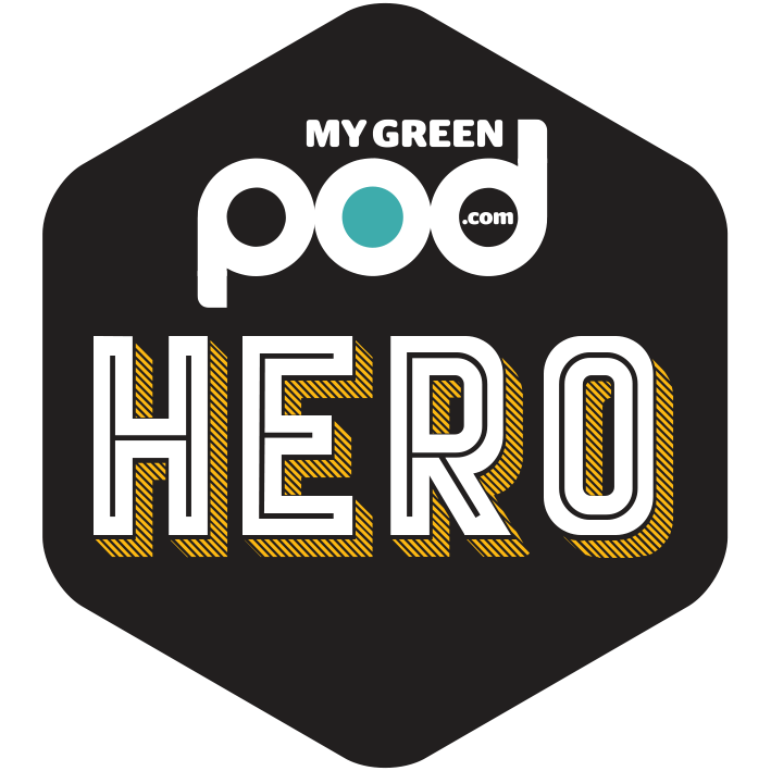 My Green Pod Gold Hero product