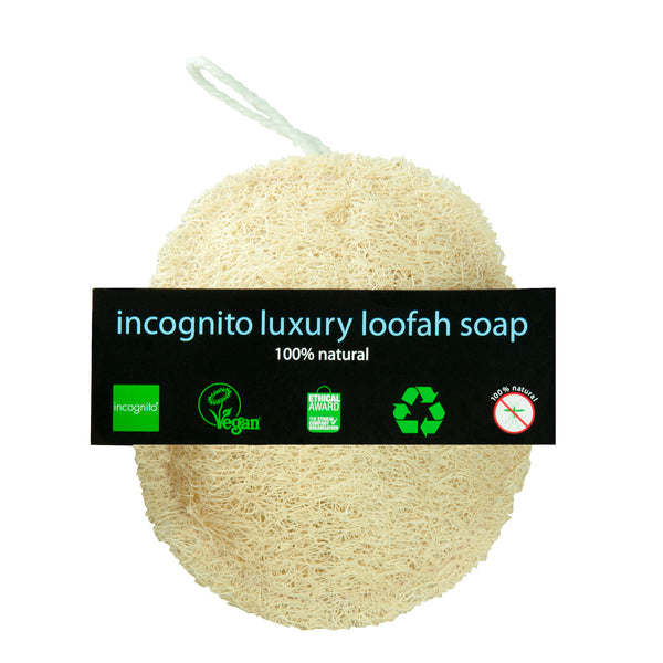 Luxury Loofah Soap.  - Incognito Less Mosquito