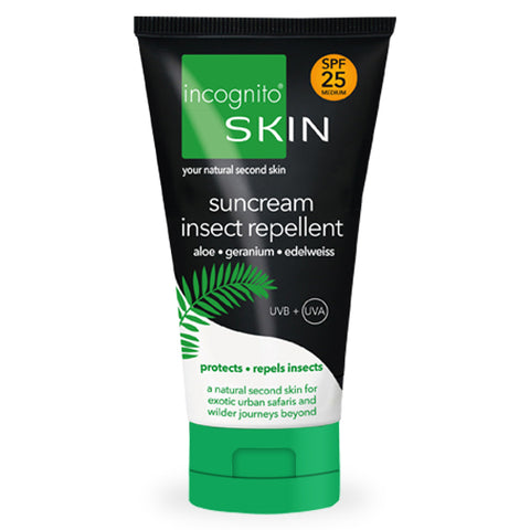 Suncream & Insect Repellent SPF25 (150ml) - LAST FEW - SALE