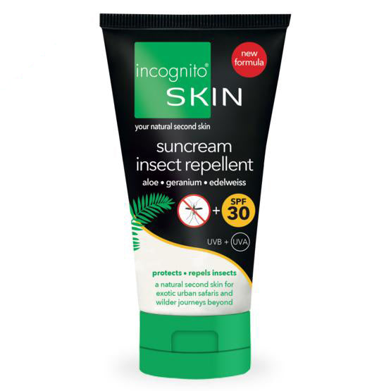 Suncream & Insect Repellent SPF30 (150ml).  - Incognito Less Mosquito