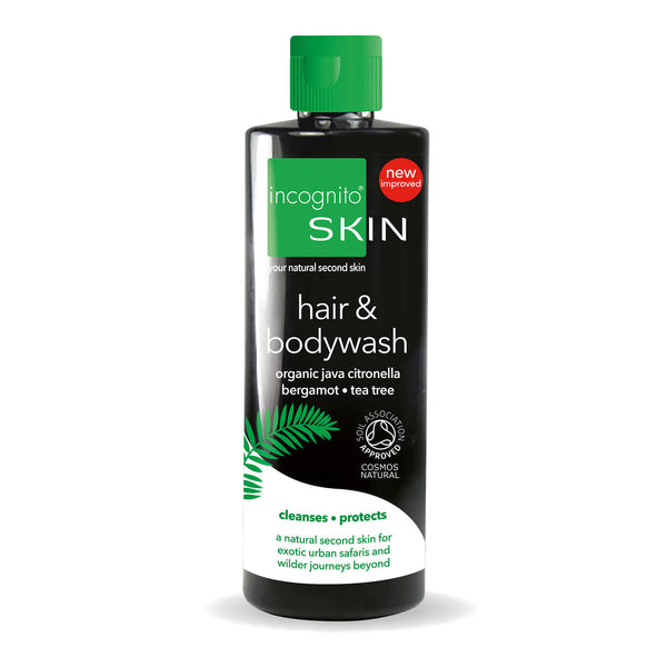 Hair & Body Wash (200ml).  - Incognito Less Mosquito