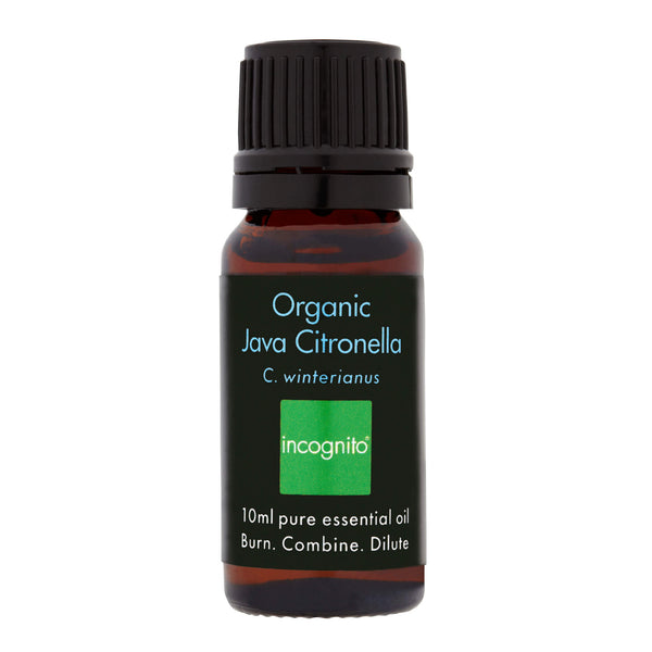 Organic Java Citronella Oil (10ml).  - Incognito Less Mosquito