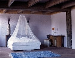 Non Impregnated Large Bell Mosquito Net
