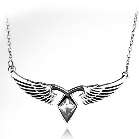 City Of Bones Necklaces Angel Wing Mortal Instrument Wings Necklace