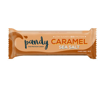 Protein Bar Caramel Sea Salt - Pandy Protein