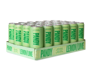 Energy Drink Lemon/Lime 24 units - Pandy Protein