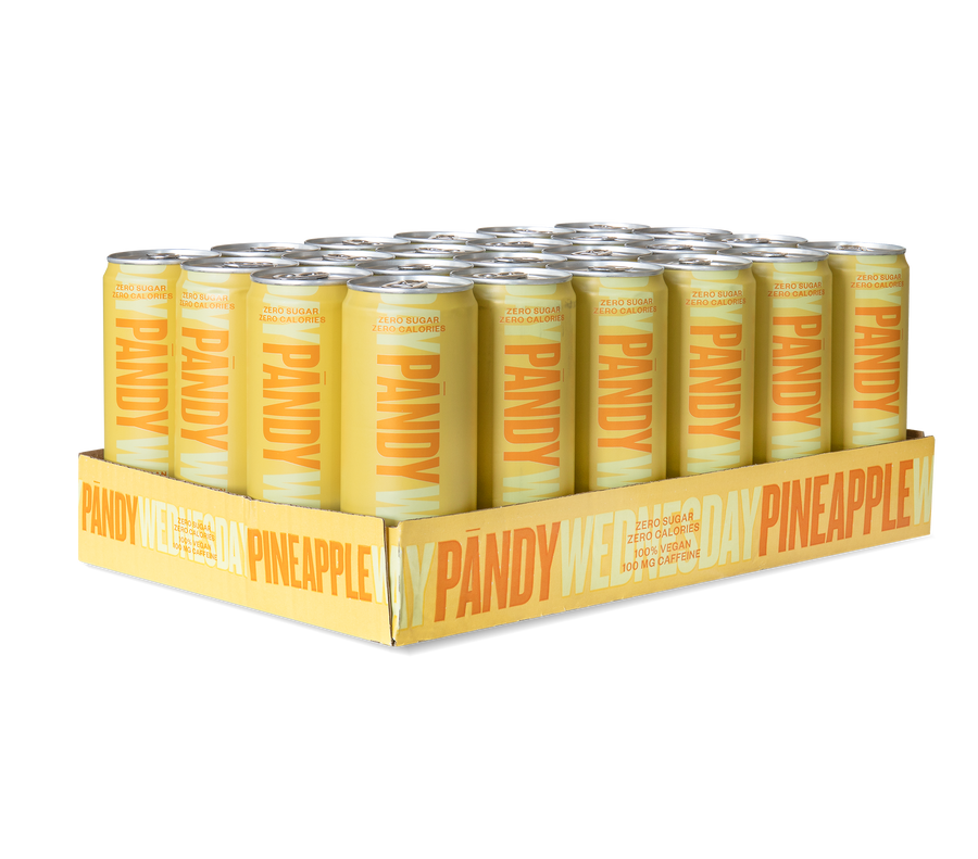 Energy Drink Pineapple 24 units - Pandy Protein