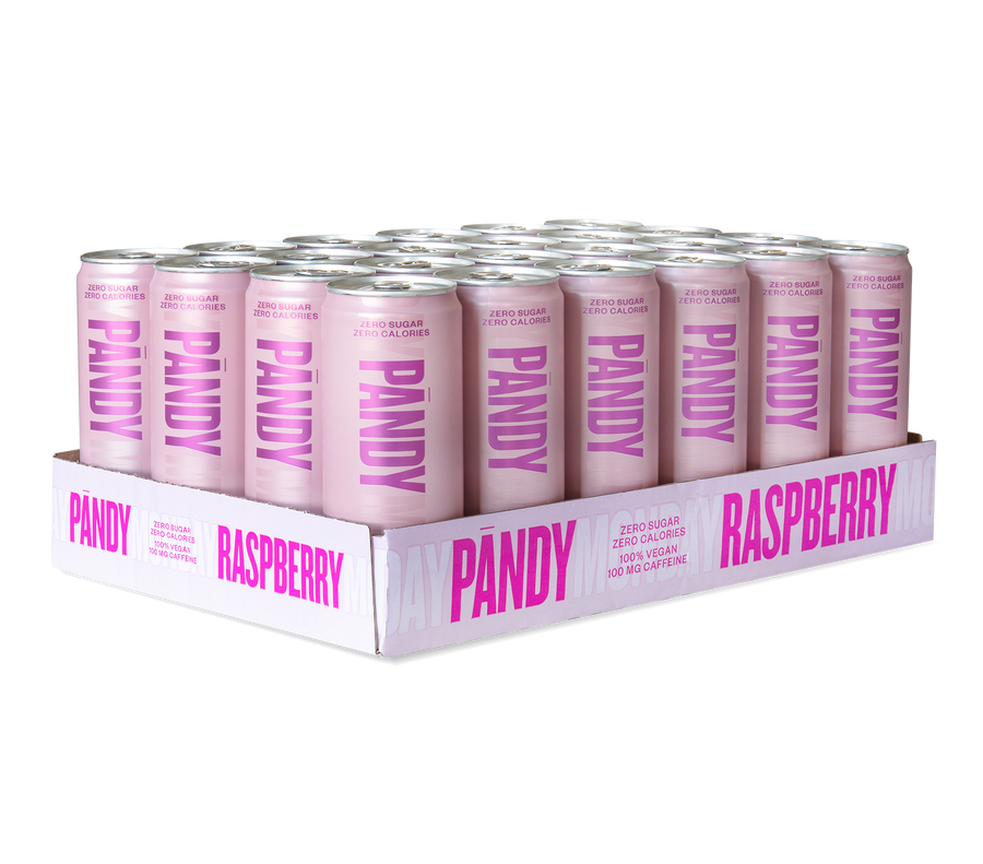 Energy Drink Raspberry 24 units - Pandy Protein