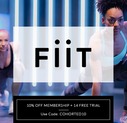 cohorted, Fiit, Exclusive, Offer, 10% OFF
