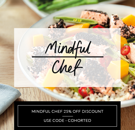 cohorted, mindful chef 25% off, exclusive offer