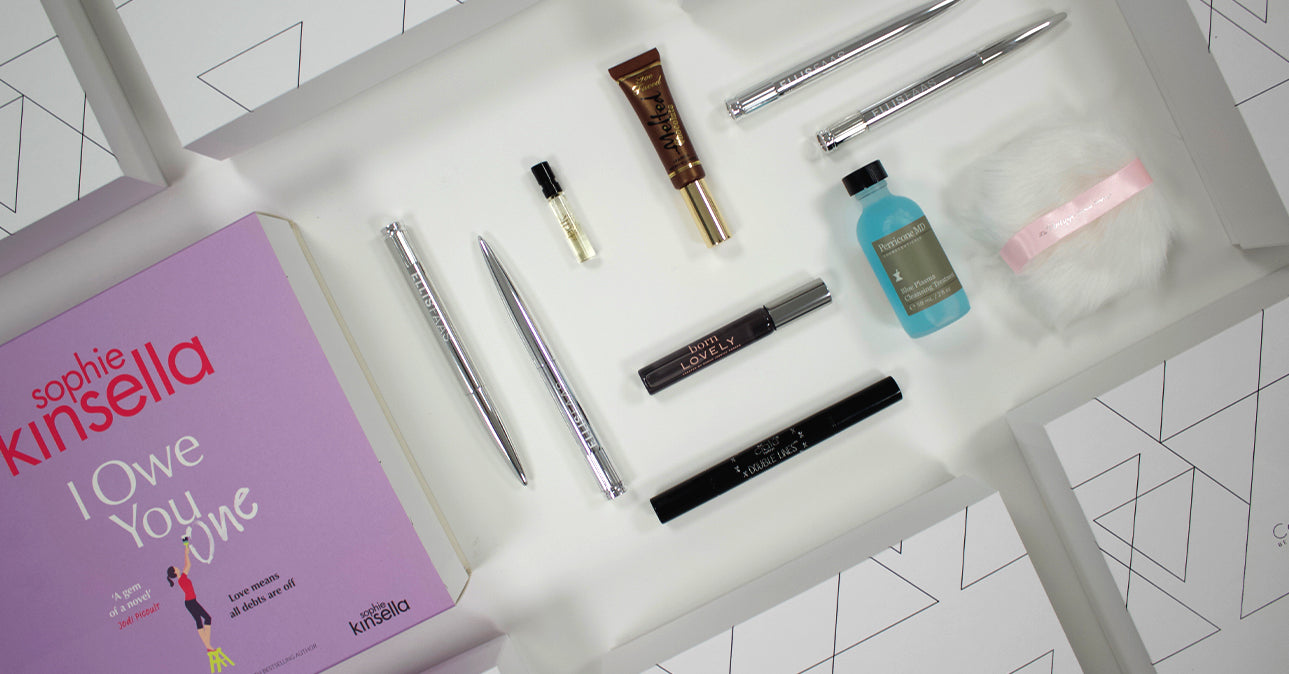 Cohorted, Exclusive Sophie Kinsella Beauty Box
