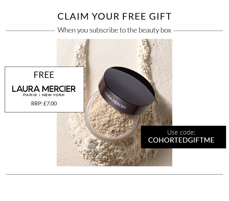 cohorted, Free gift, Laura Mercier