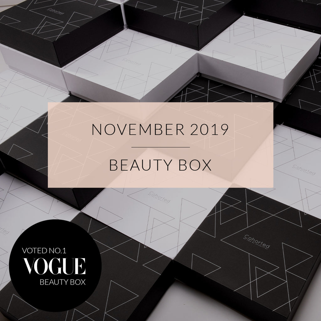 The November  2019 Beauty Box Curation